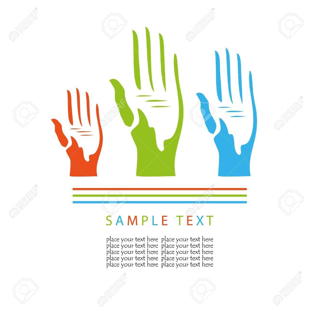Voting hands.  concept Stock Vector - 7705612