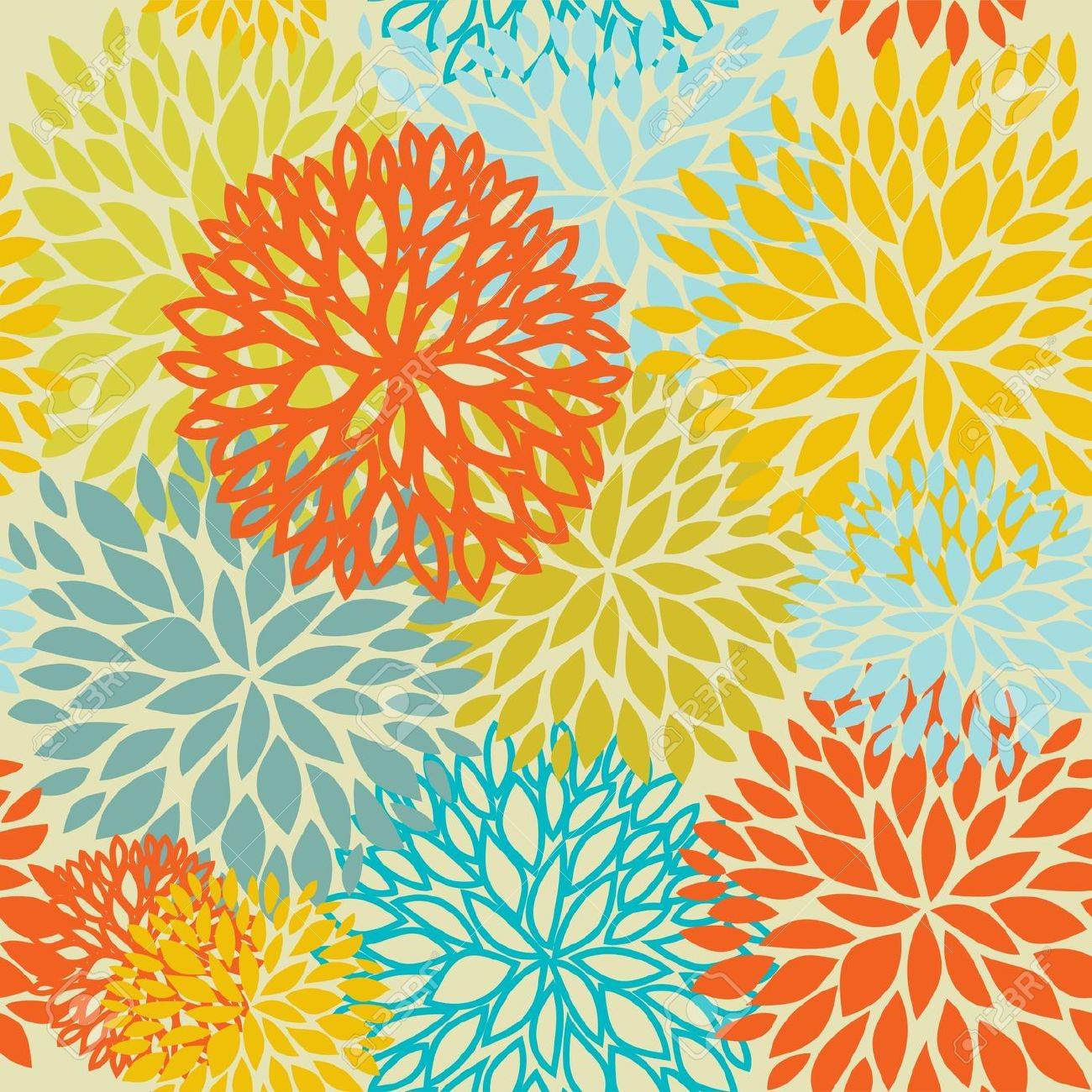 Floral seamless pattern Stock Photo - 7763963