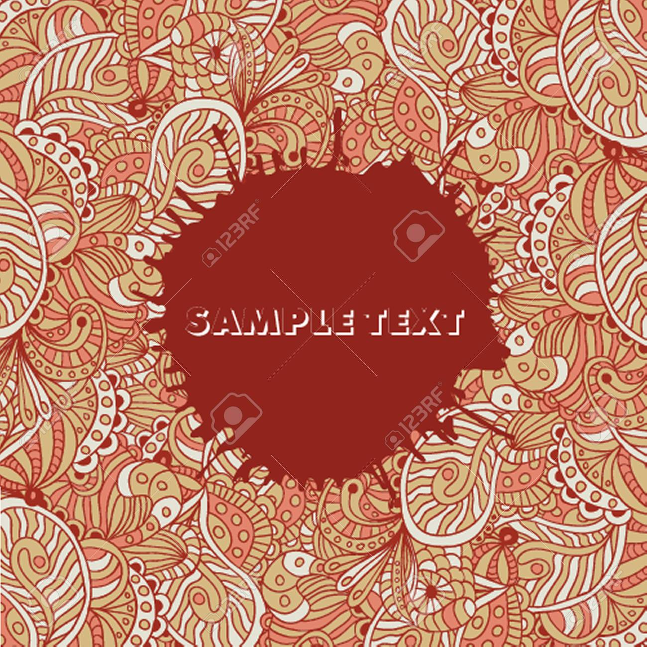 Abstract floral background Stock Vector - 21025219