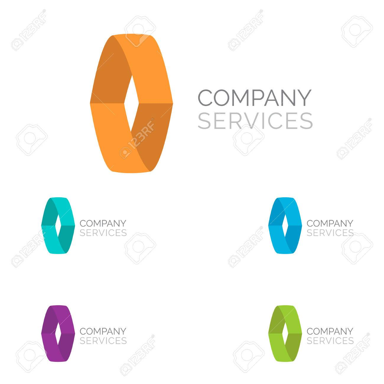 Letter O logo design template elements in different bright colors Stock  Vector - 36852060 f5e1287eaaef