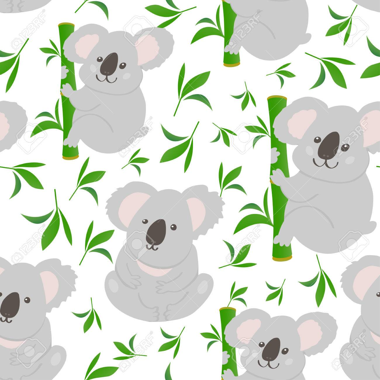 Top Wallpaper Koala Cartoon - 73967275-cute-bear-koala-doodle-seamless-pattern-vector-background-with-koalas-can-be-used-for-baby-taxtile-t  Best Photo Reference_775832   .jpg