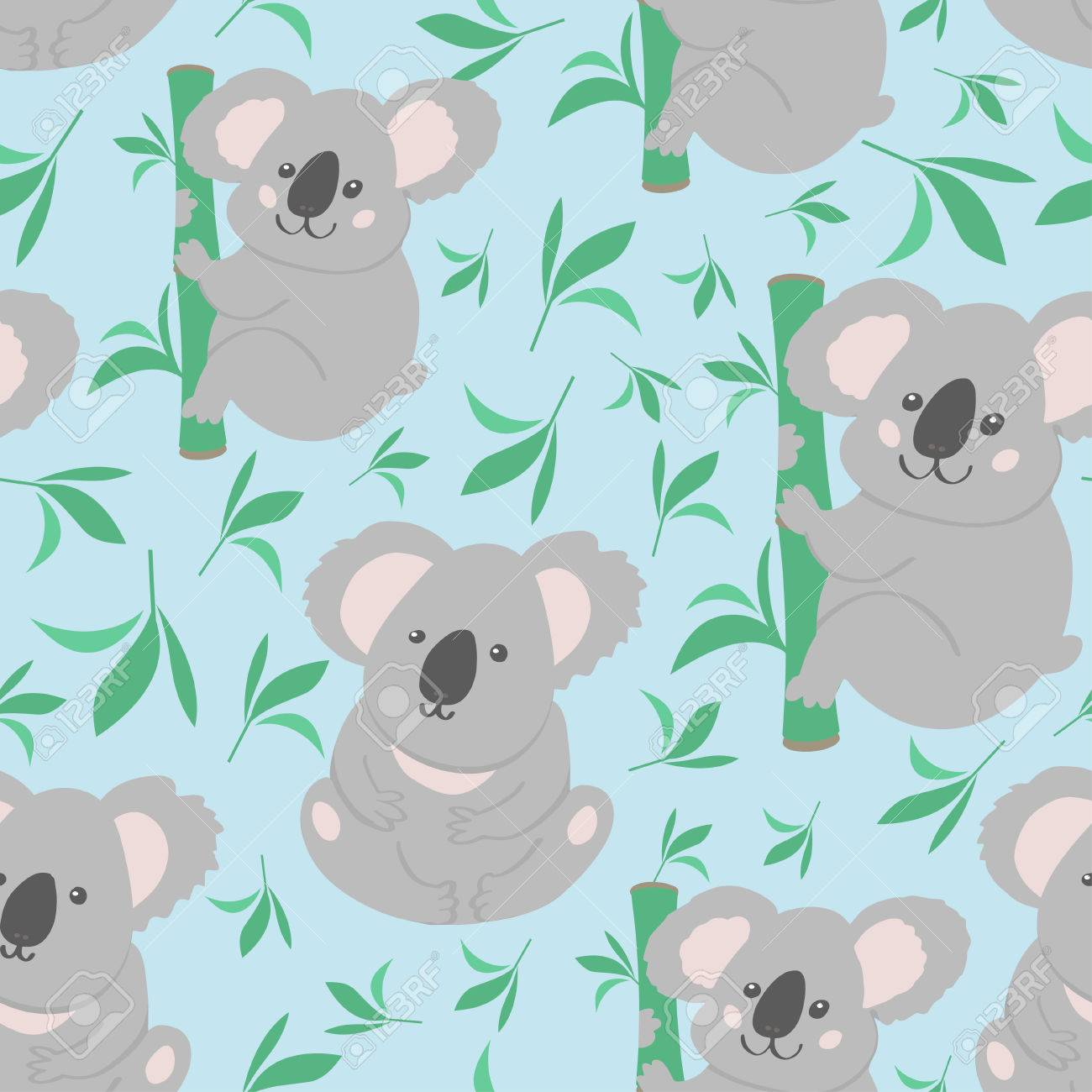 Top Wallpaper Koala Cartoon - 73967276-cute-bear-koala-doodle-seamless-pattern-vector-background-with-koalas-can-be-used-for-baby-taxtile-t  Best Photo Reference_775832   .jpg