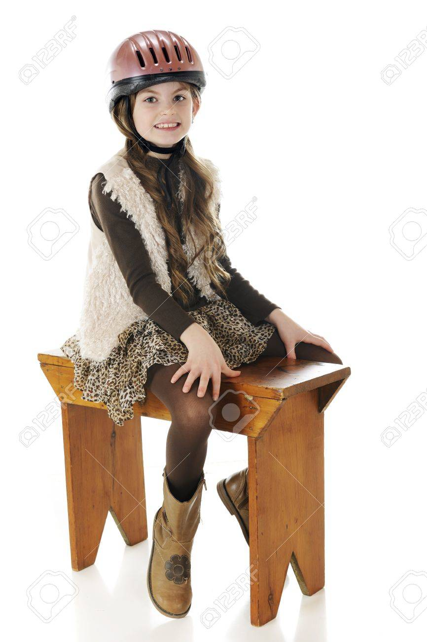 Wearing Her Horse Riding
