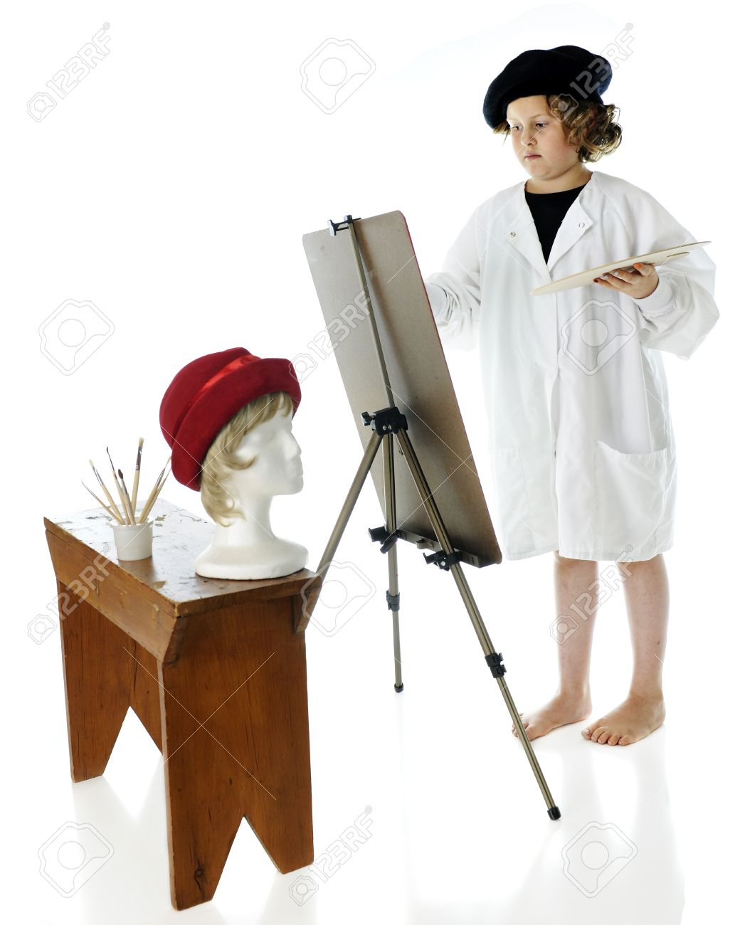 An Elementary-aged Artist c63fe9795fc