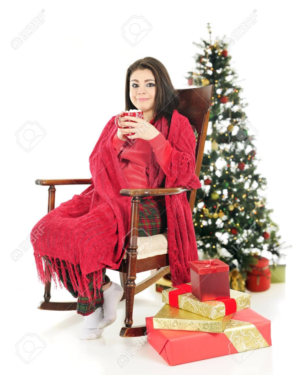 5892a3108 A Beautiful Teen Girl In Her Pajamas