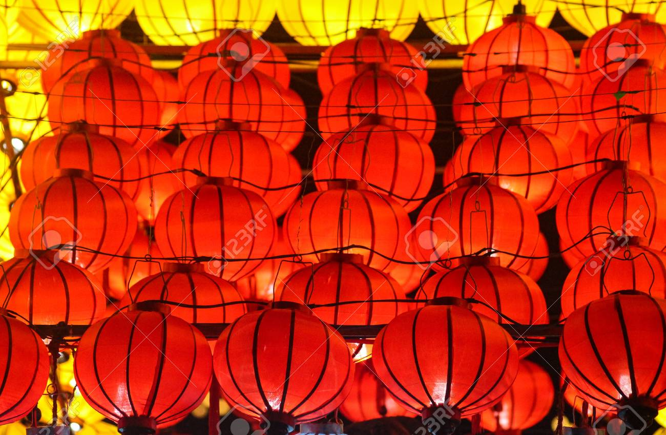 Red Lanterns At The Lantern Festival In Hoi An Vietnam Stock Photo Picture And Royalty Free Image Image 94839406