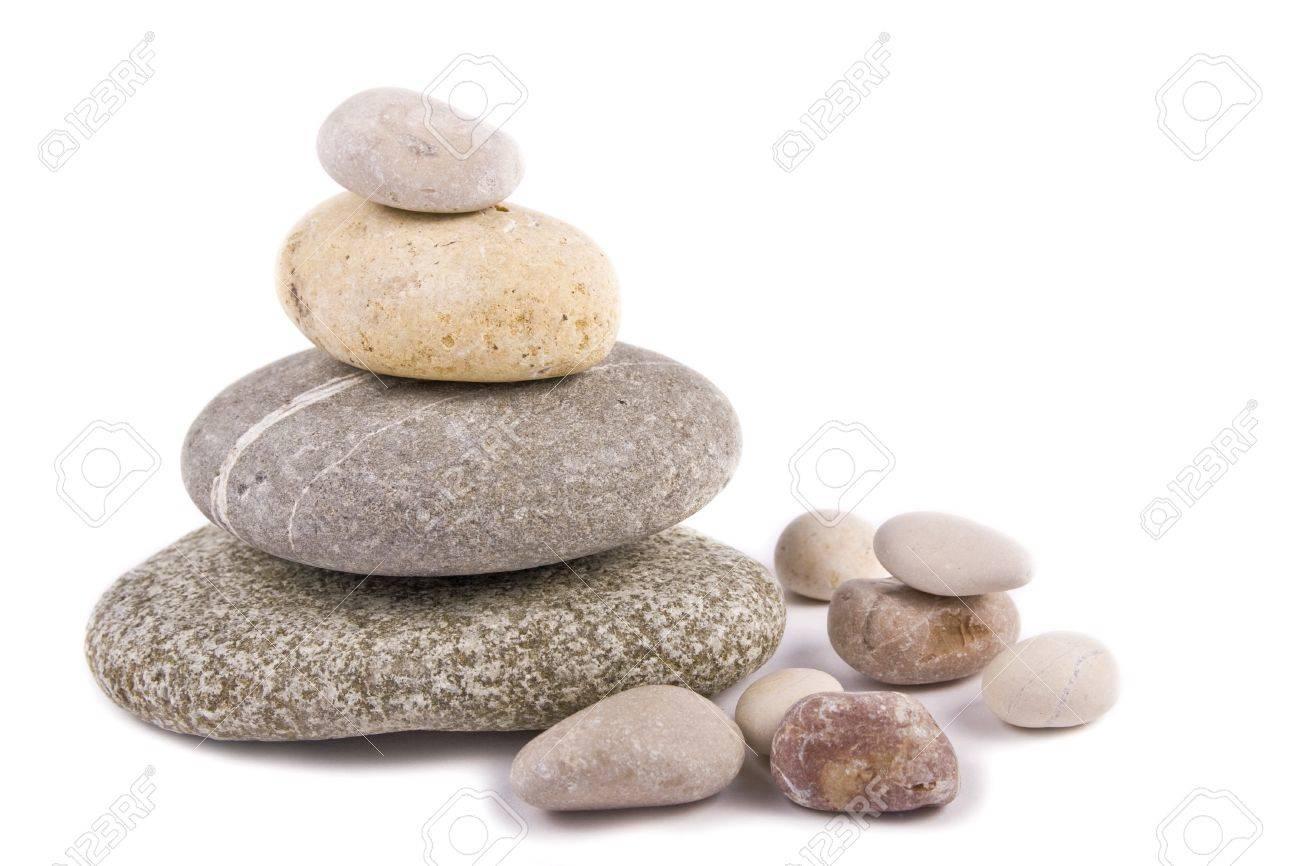 isolated stones Stock Photo - 9074241