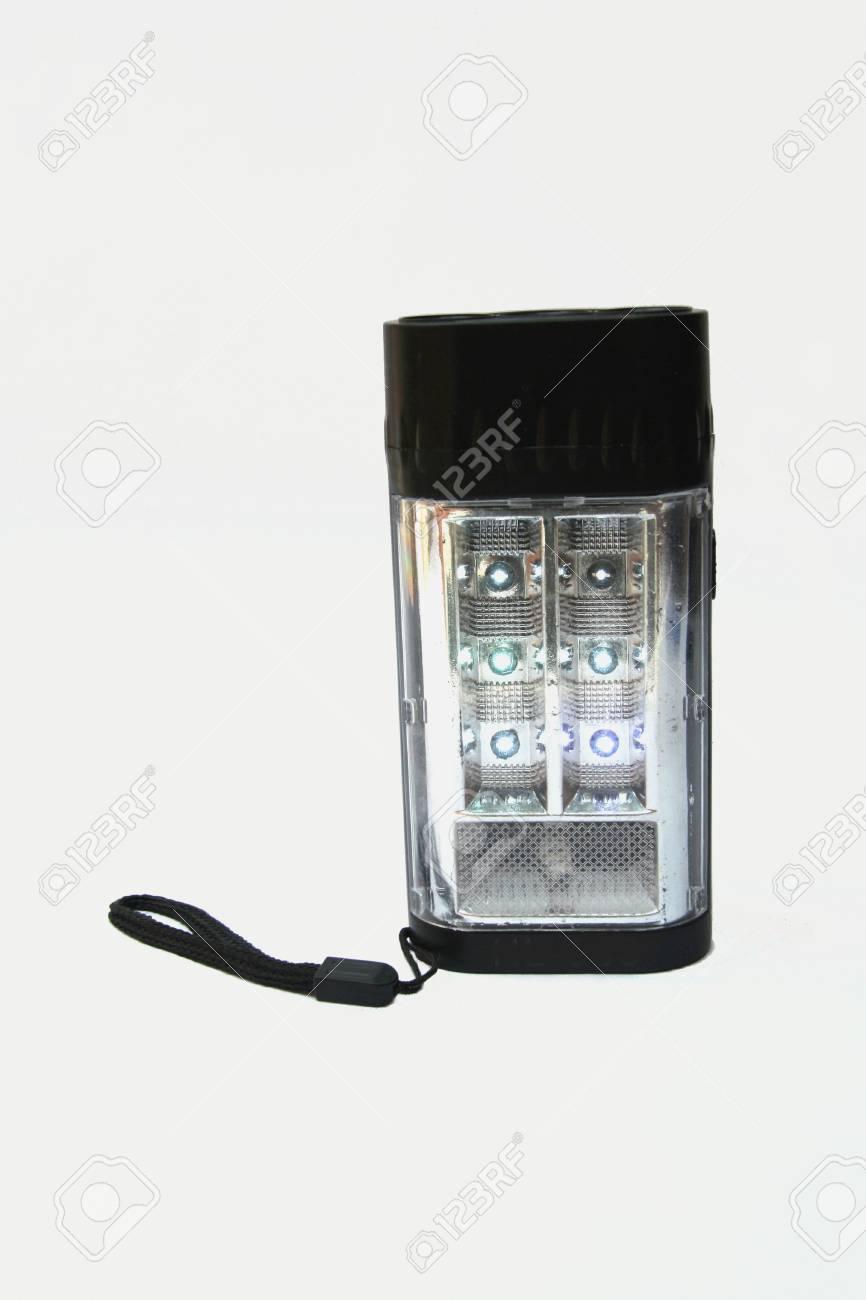 Akku Betrieben, Tragbaren Notfall Lampe Mit Glühende Rote LED Lampe ...