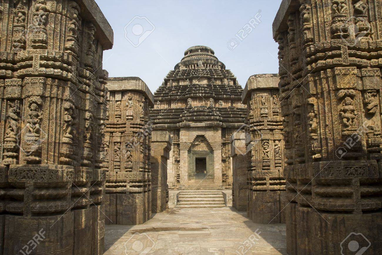 Skillful, marvelous sculpture at Sun Temple, Konark, Orissa, India, Asia Stock Photo - 10839825