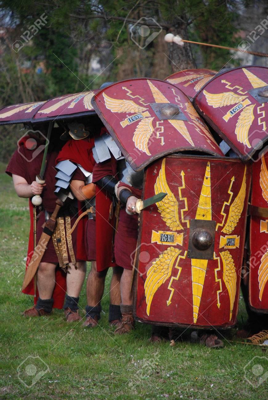 守備位置のローマ軍団 の写真素材・画像素材 Image 36042463.