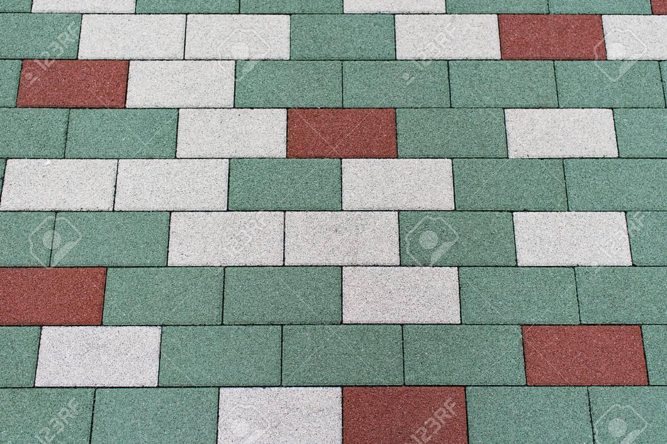 Pavimento Rosso E Bianco : Immagini stock pavimento per esterni piastre per pavimenti nei