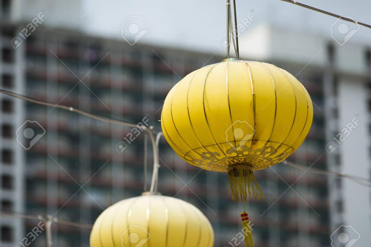 Golden Chinese lanterns - 88168256
