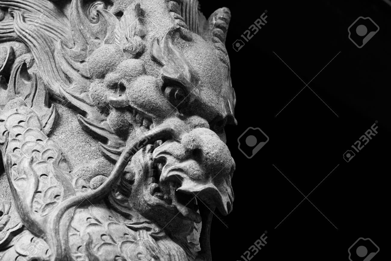 Statue in Wong Tai Sin Temple - 88247404