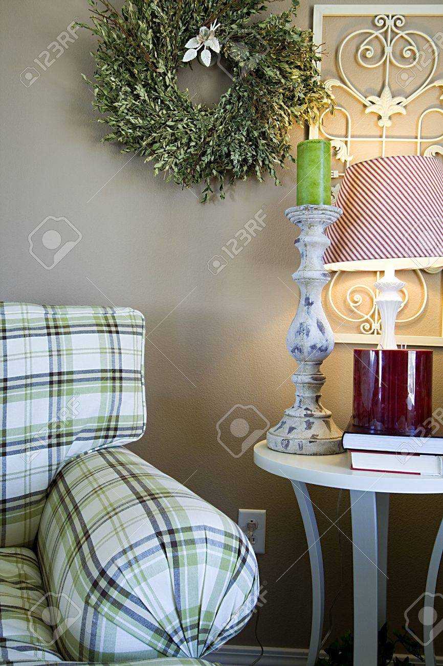 Close up on a Trendy Modern Dining Room Stock Photo - 3550692