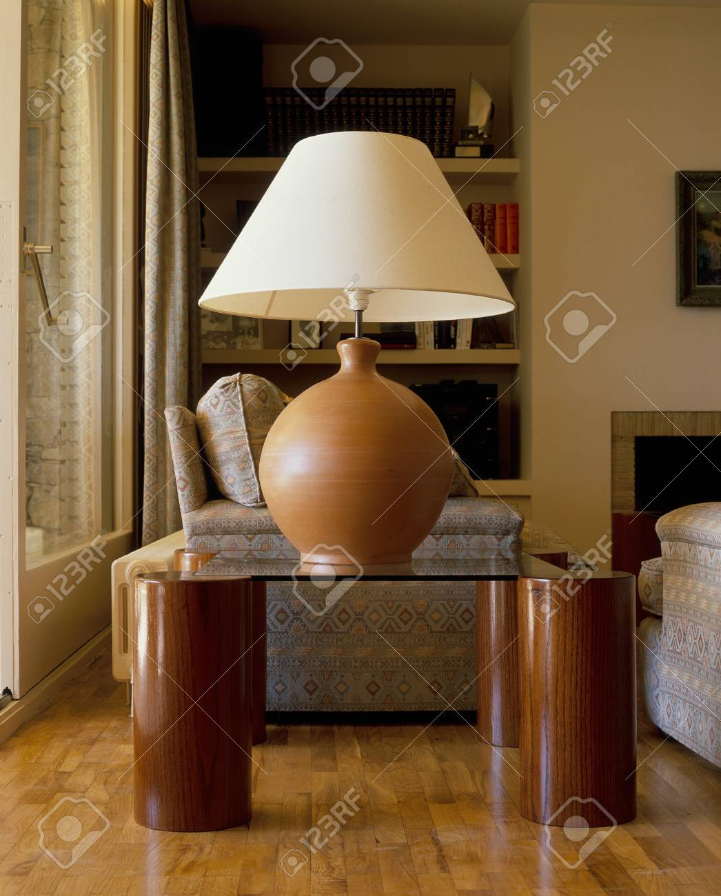 View of a lamp in a living room Stock Photo - 7215198