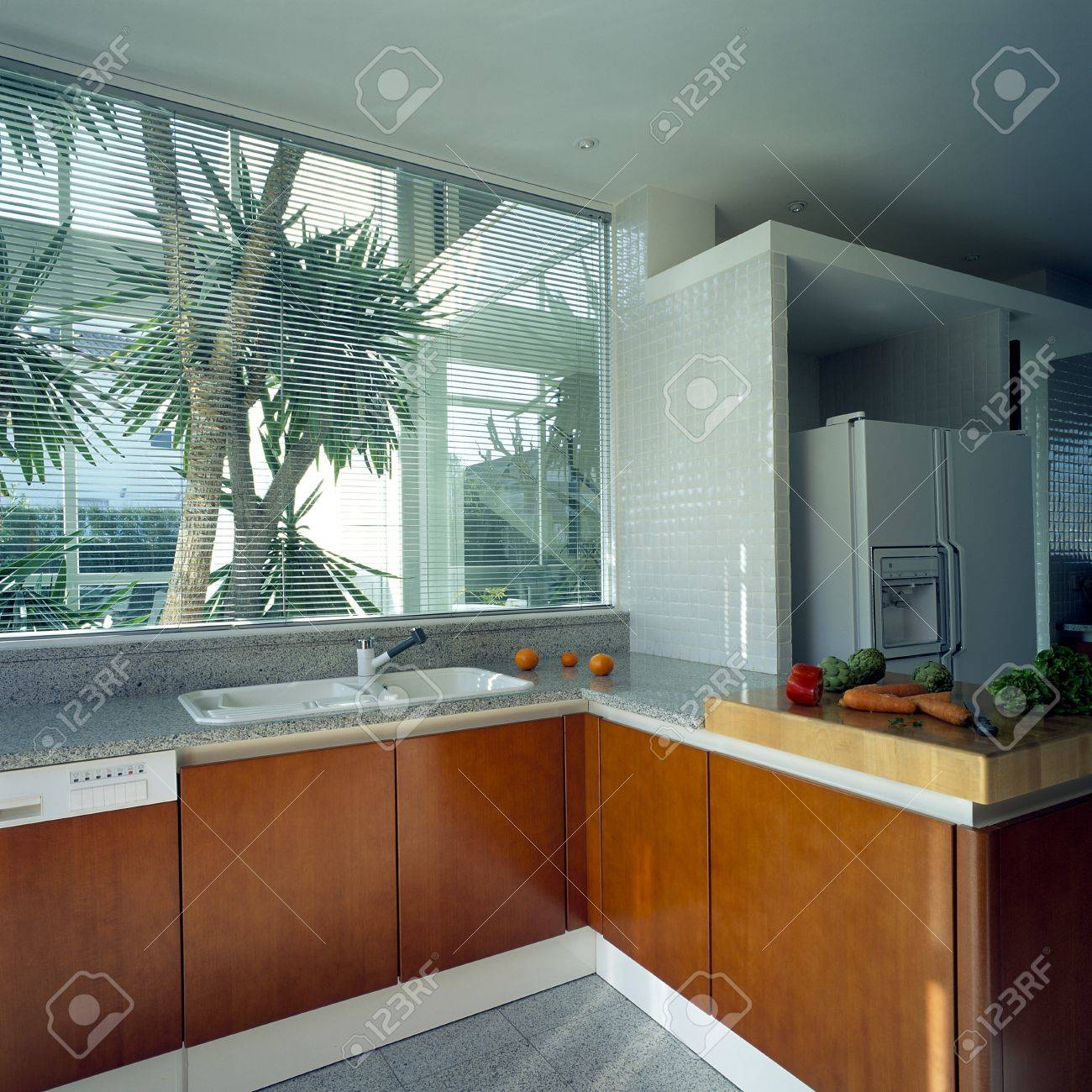 View of a ventilated kitchen Stock Photo - 7215327