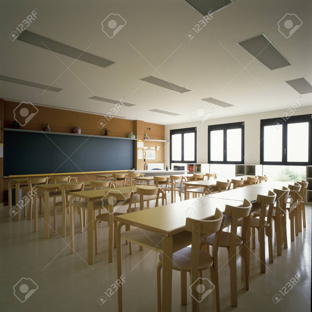 View of an eclectic classroom Stock Photo - 7215332