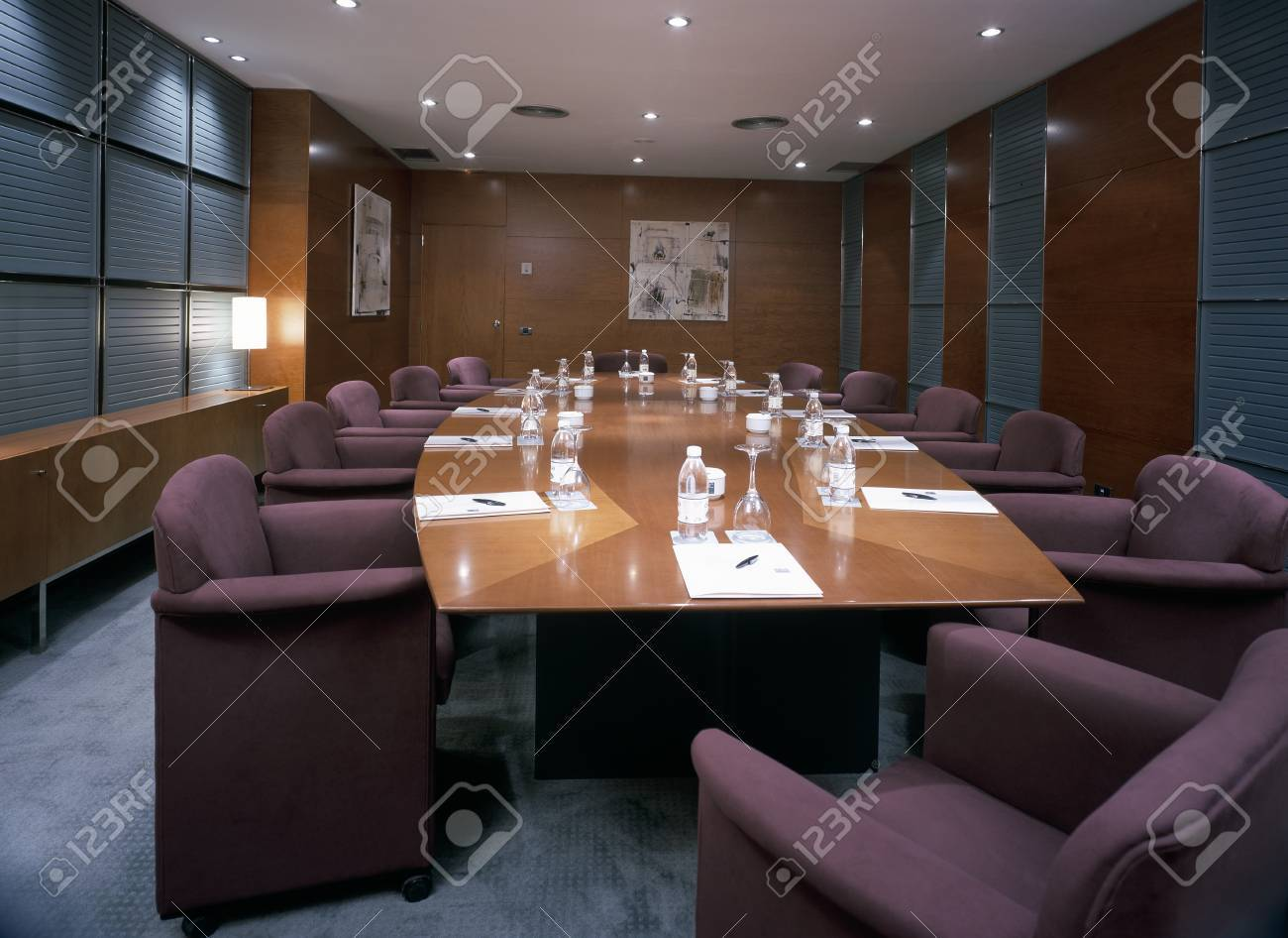 View of an elegant conference room Stock Photo - 7215339