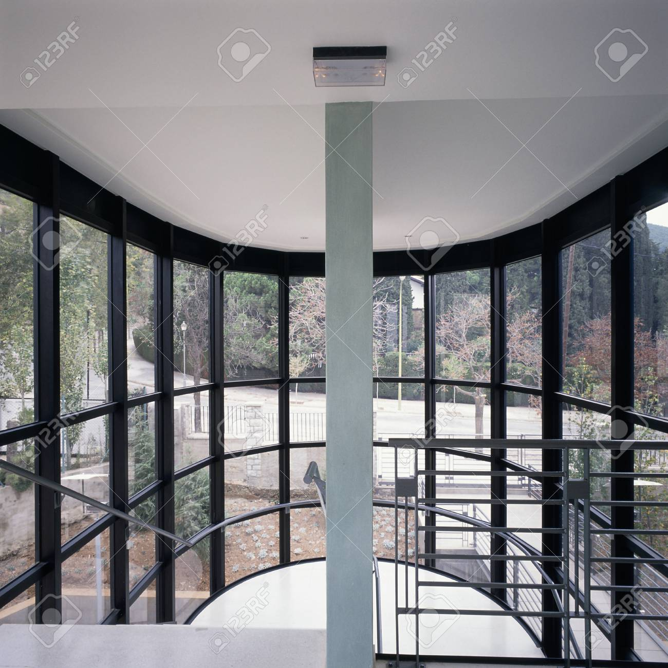 A house with glass panels Stock Photo - 7215410