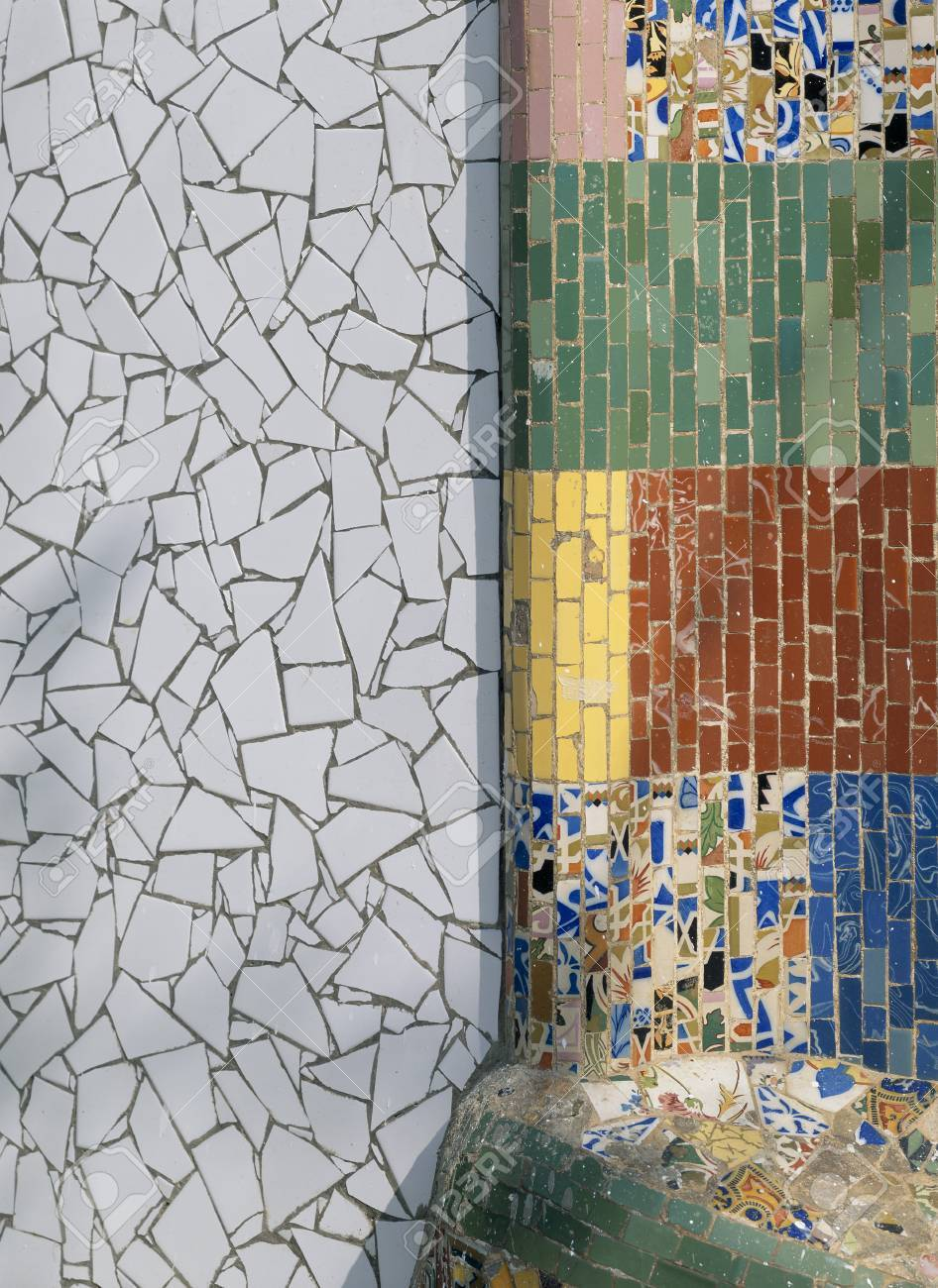 View of a tiled wall Stock Photo - 7223780