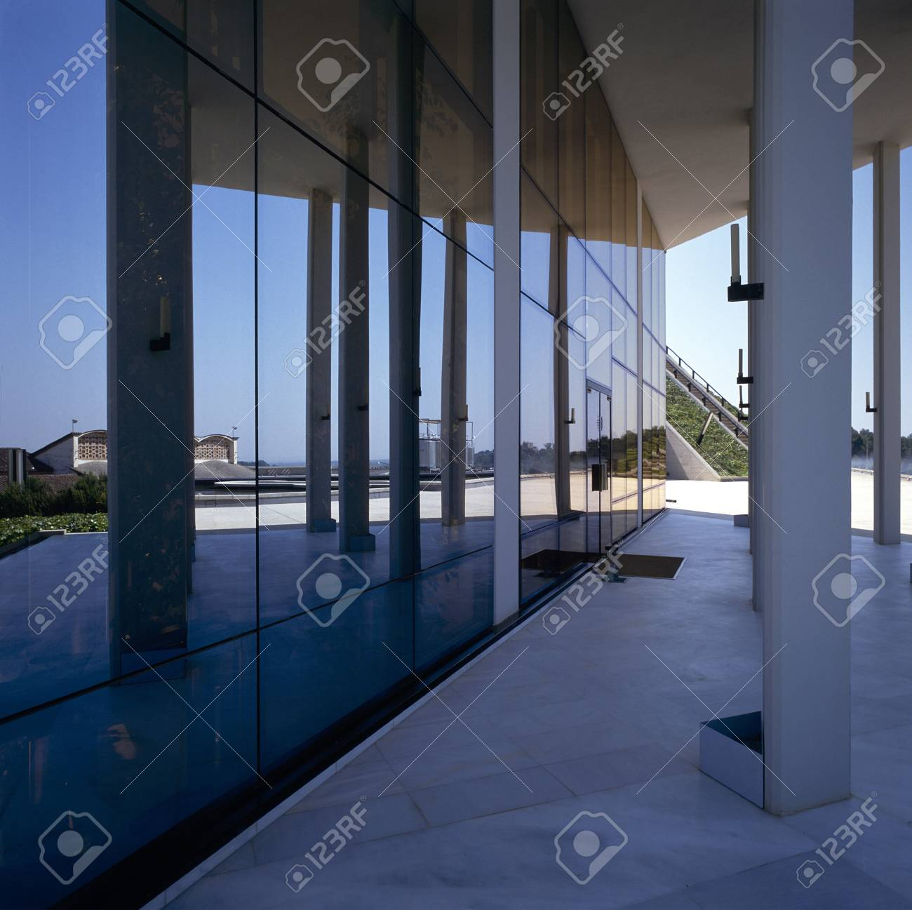 View of glass panels of a building Stock Photo - 7223956