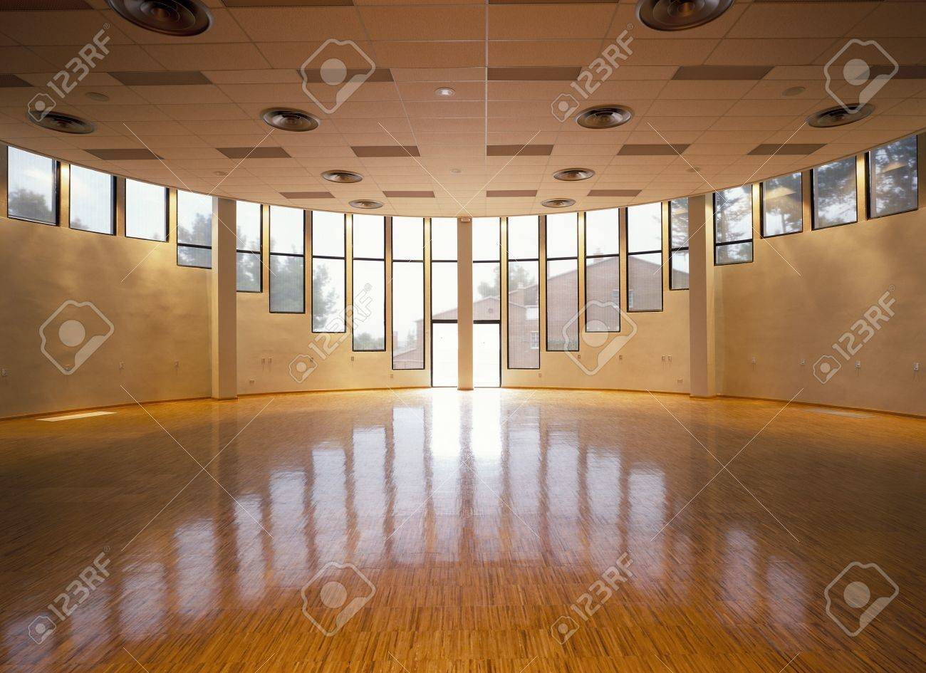 Wood Flooring: View Of A Spacious Hall LANG_EVOIMAGES