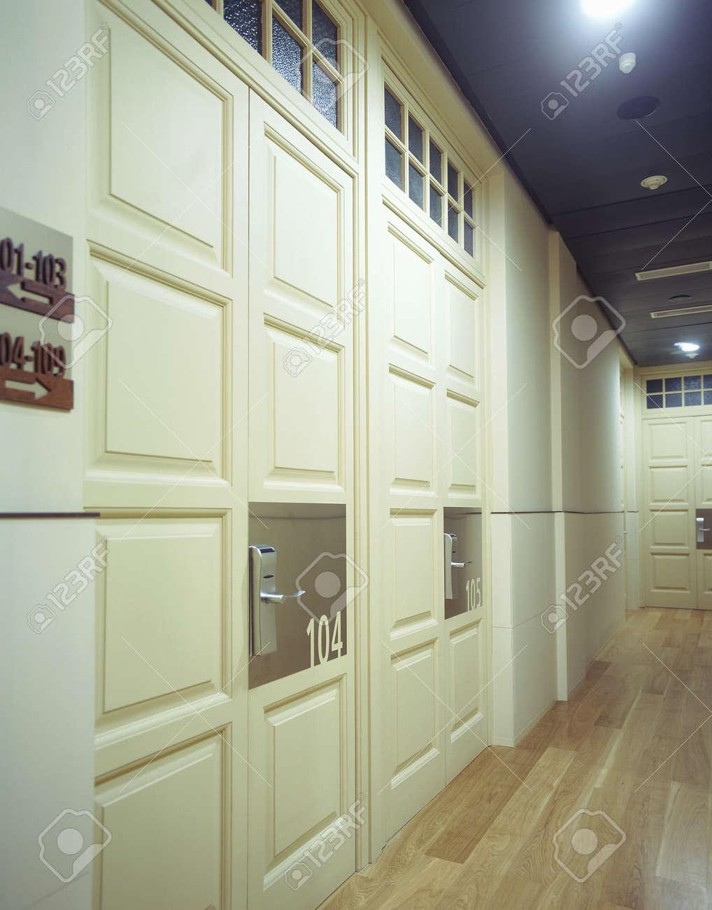 View of an illuminated hallway Stock Photo - 7224083