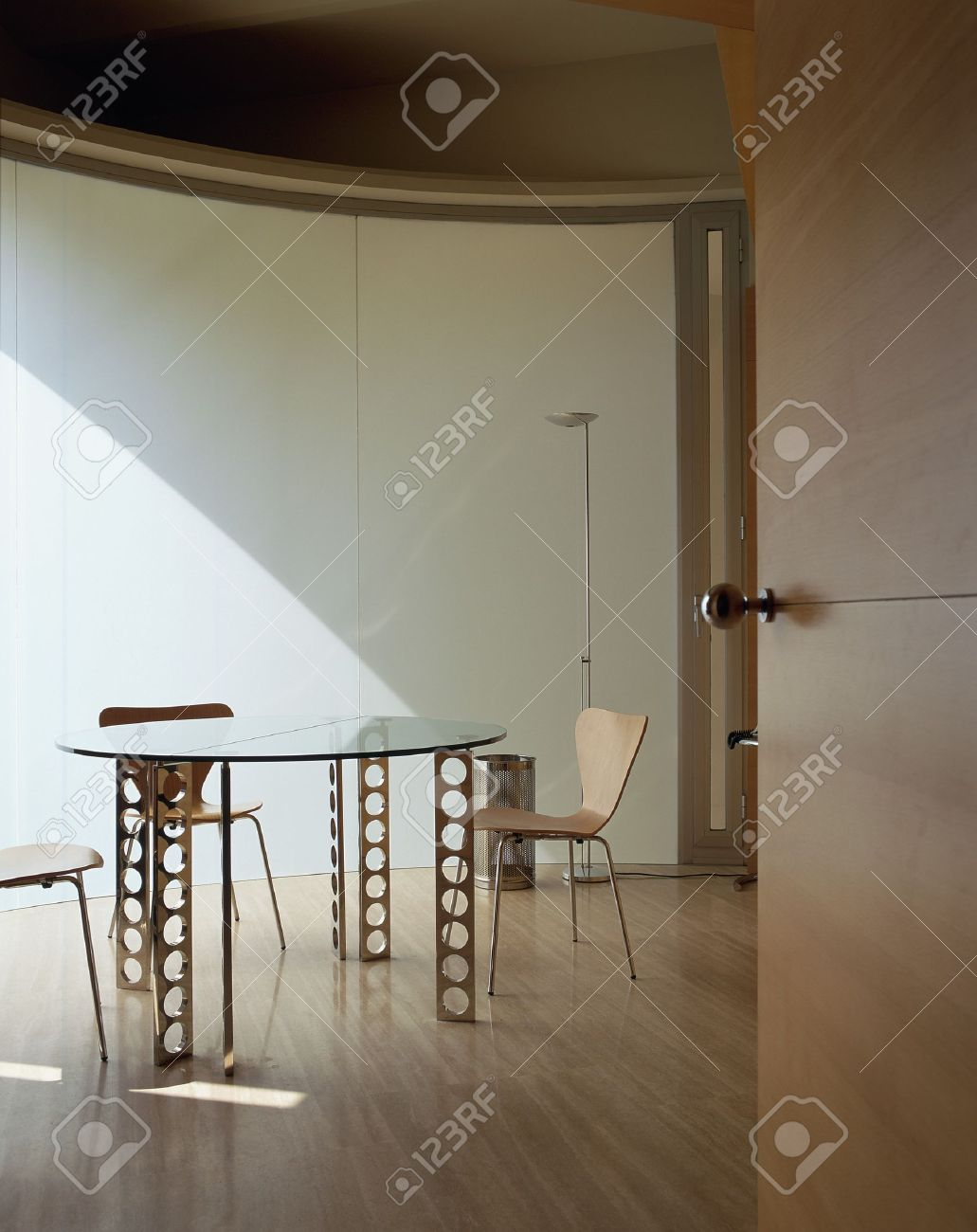 View of a neat dining area Stock Photo - 7224094