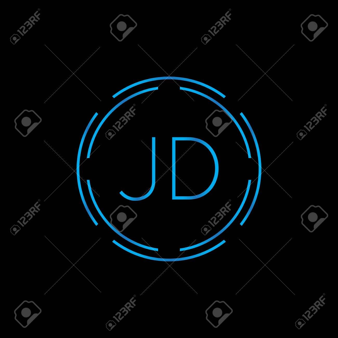 creative letter jd logo design vector template digital linked royalty free cliparts vectors and stock illustration image 146257705 creative letter jd logo design vector template digital linked