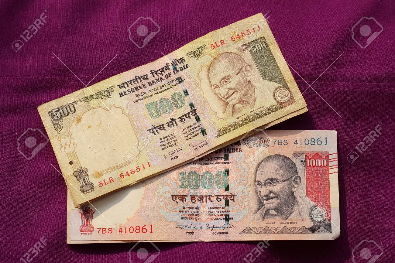 India has banned old 500 and 1000 rupee notes from circulation
