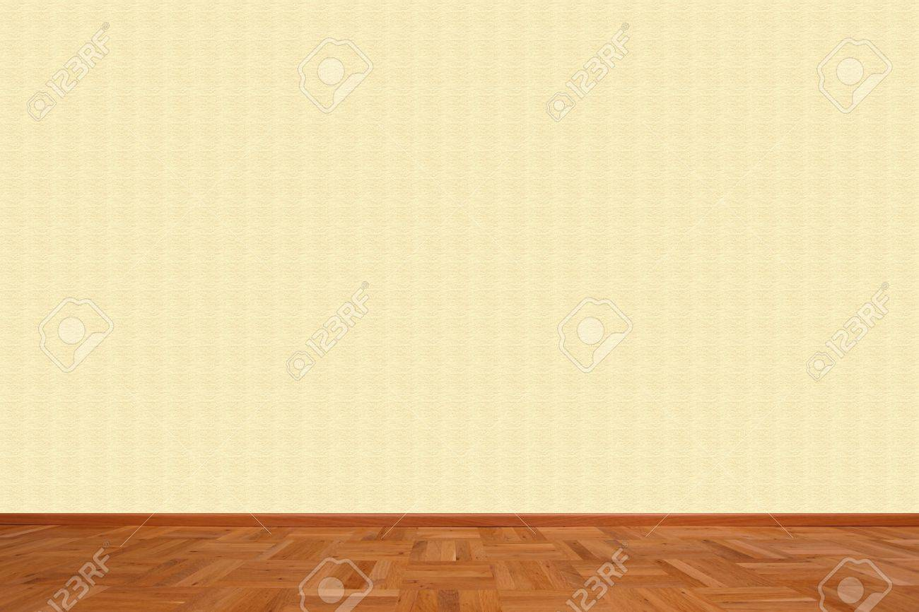 Living Room With Empty Wall Stock Photo Picture And Royalty Free