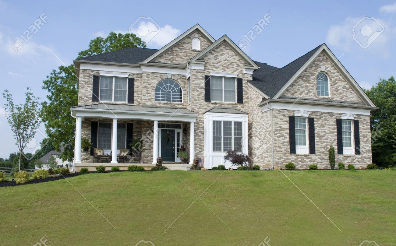 Nice Brick House on Hill