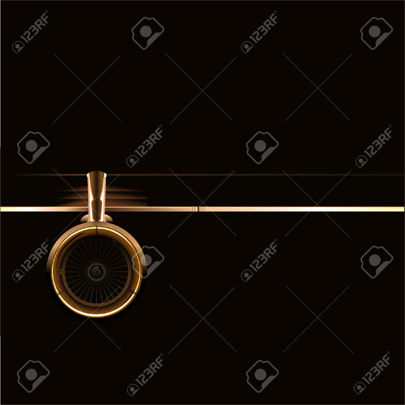 Vector wing with turbine - 4470603