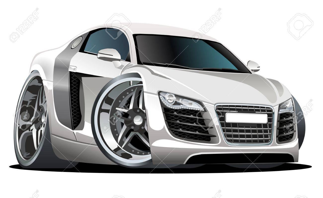 modern cartoon car Stock Vector - 8145541