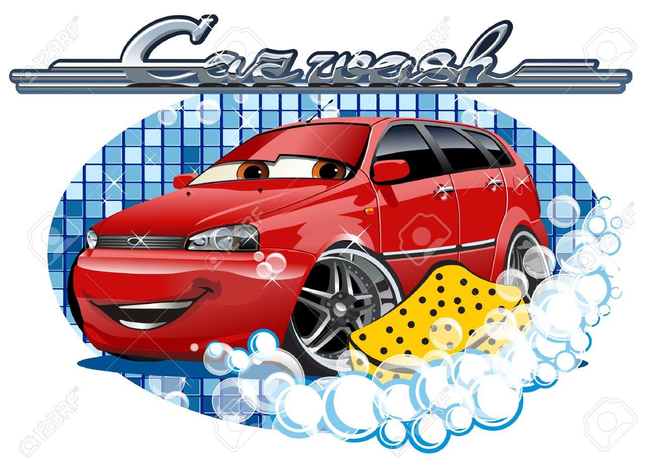 car wash stock vector 24682953