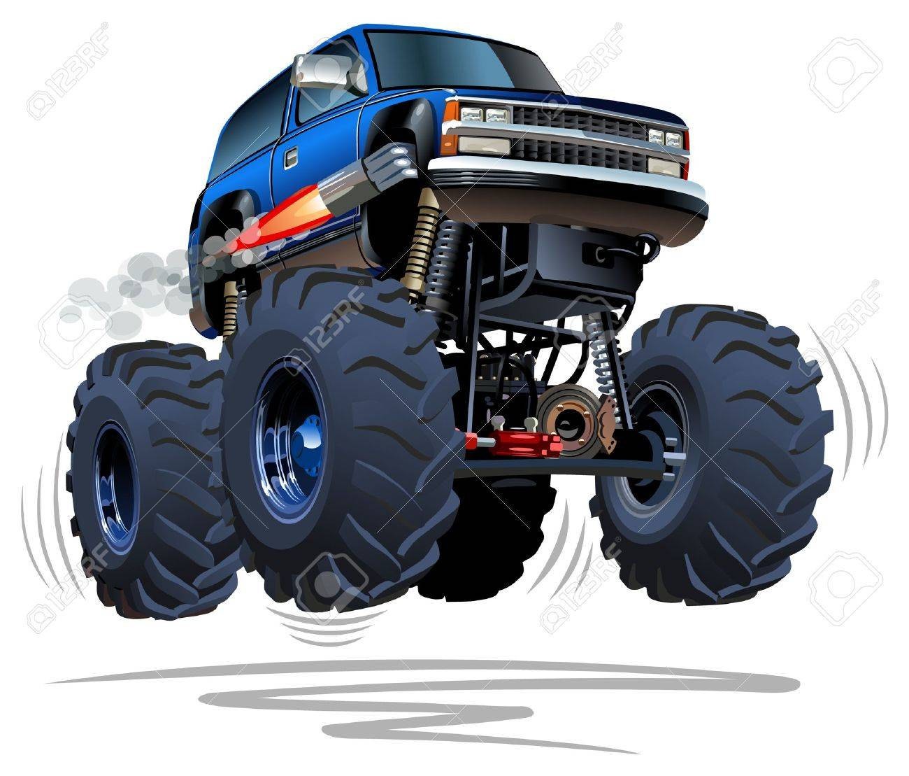 Cartoon Monster Truck Royalty Free Cliparts Vectors And Stock Illustration Image 30145452