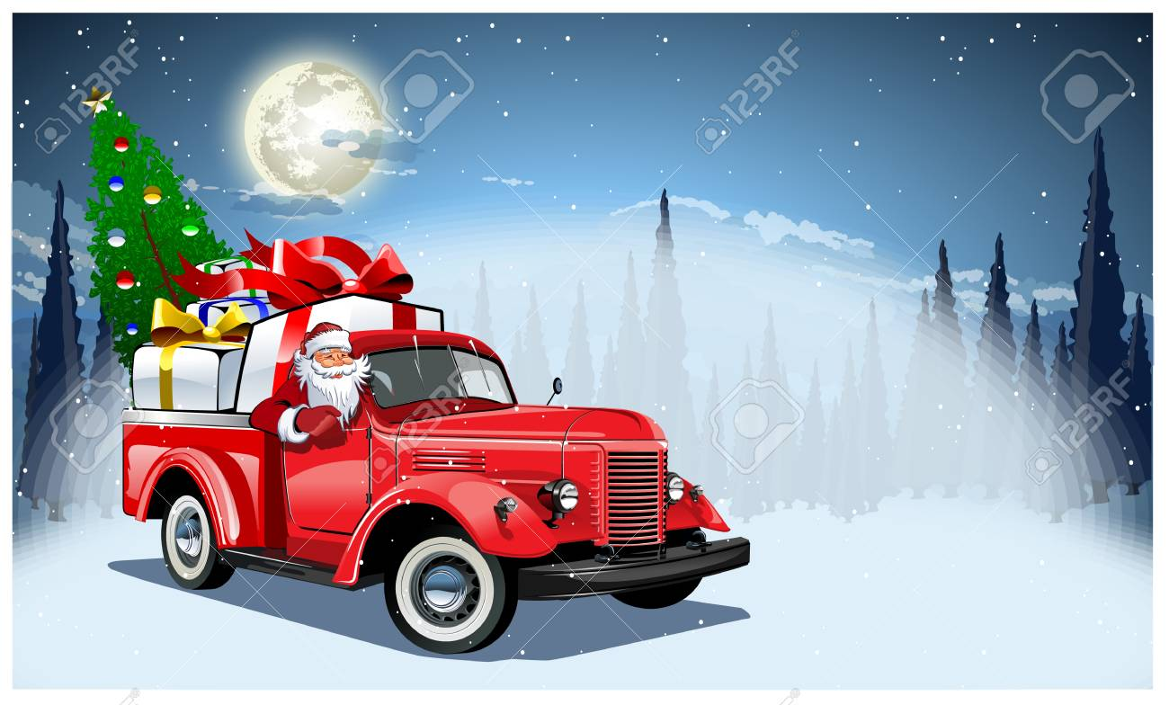 Vector Christmas Card. Available format separated by groups and layers for easy edit - 90467235