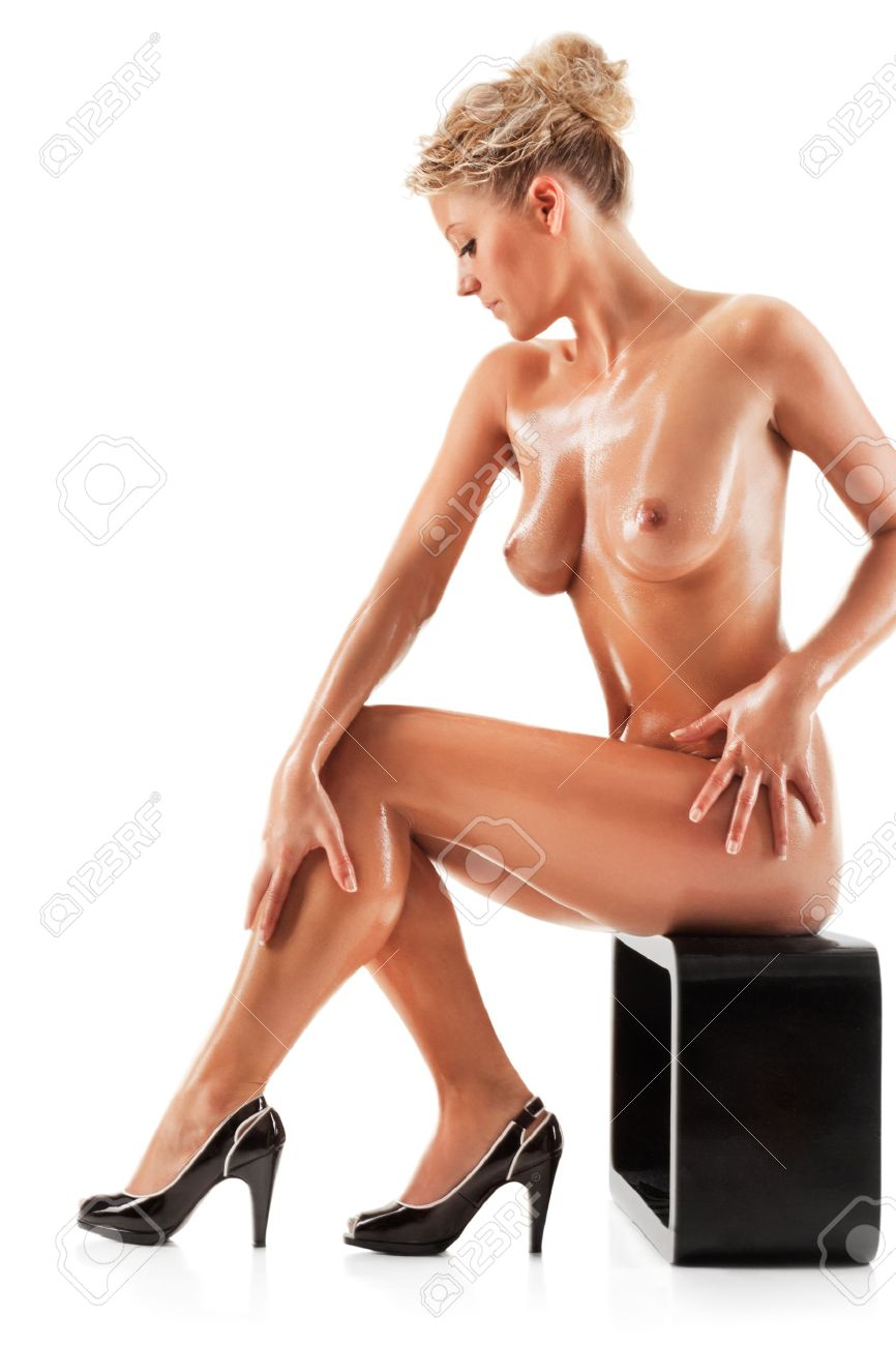Stock Photo - Young beautiful naked woman