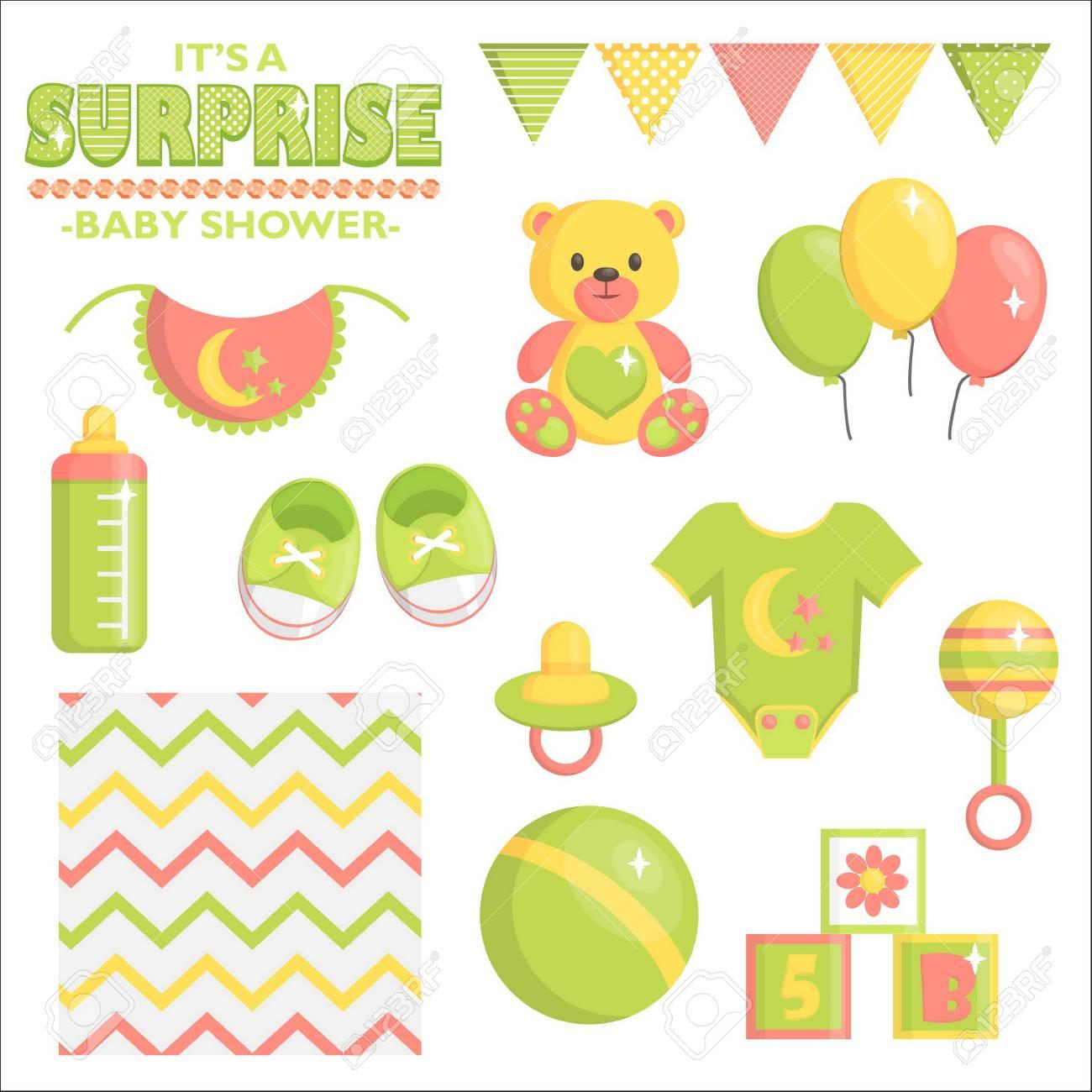 8dd70a5e6 Es Una Colección Sorpresa De Artículos Para Baby Shower Para Fiestas ...