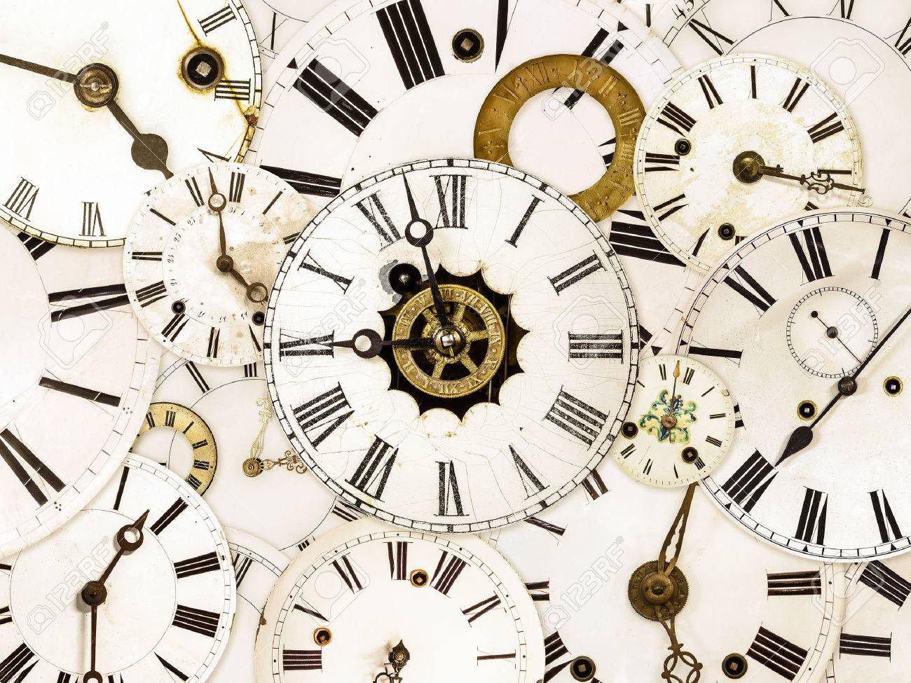 Wall clock images stock pictures royalty free wall clock photos large set of various vintage clock faces amipublicfo Gallery