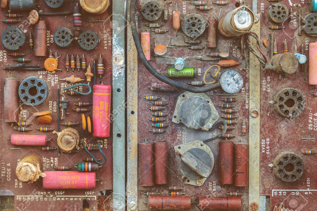 Den Bosch The Netherlands May 14 2017 Vintage Pcb Circuit Board Recycling Machine Buy Electronic With