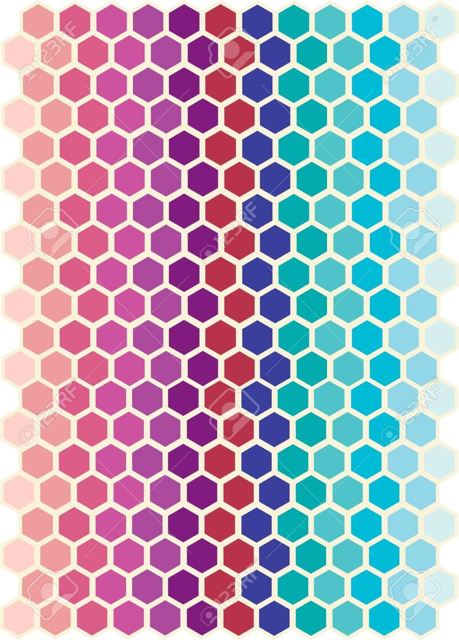 Hexagon Abstract Stock Photo - 13530510