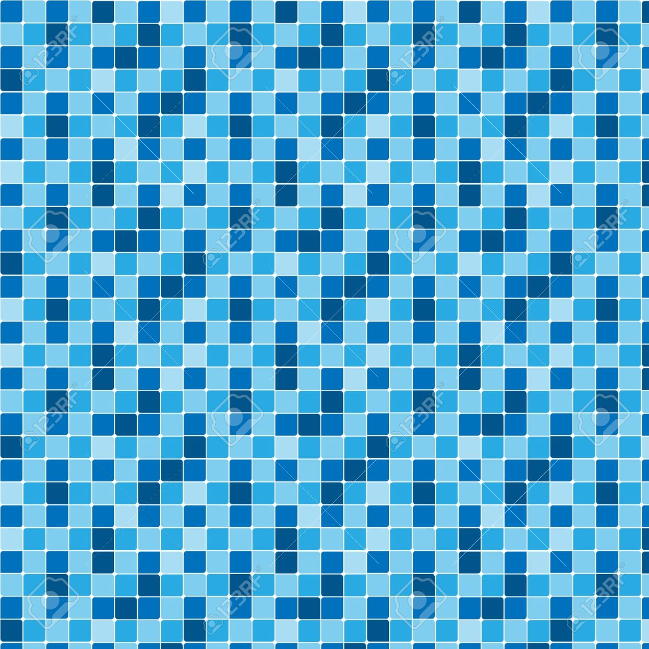Bathroom tiles texture - Pattern Blue Tiles Texture Stock Vector 10957863
