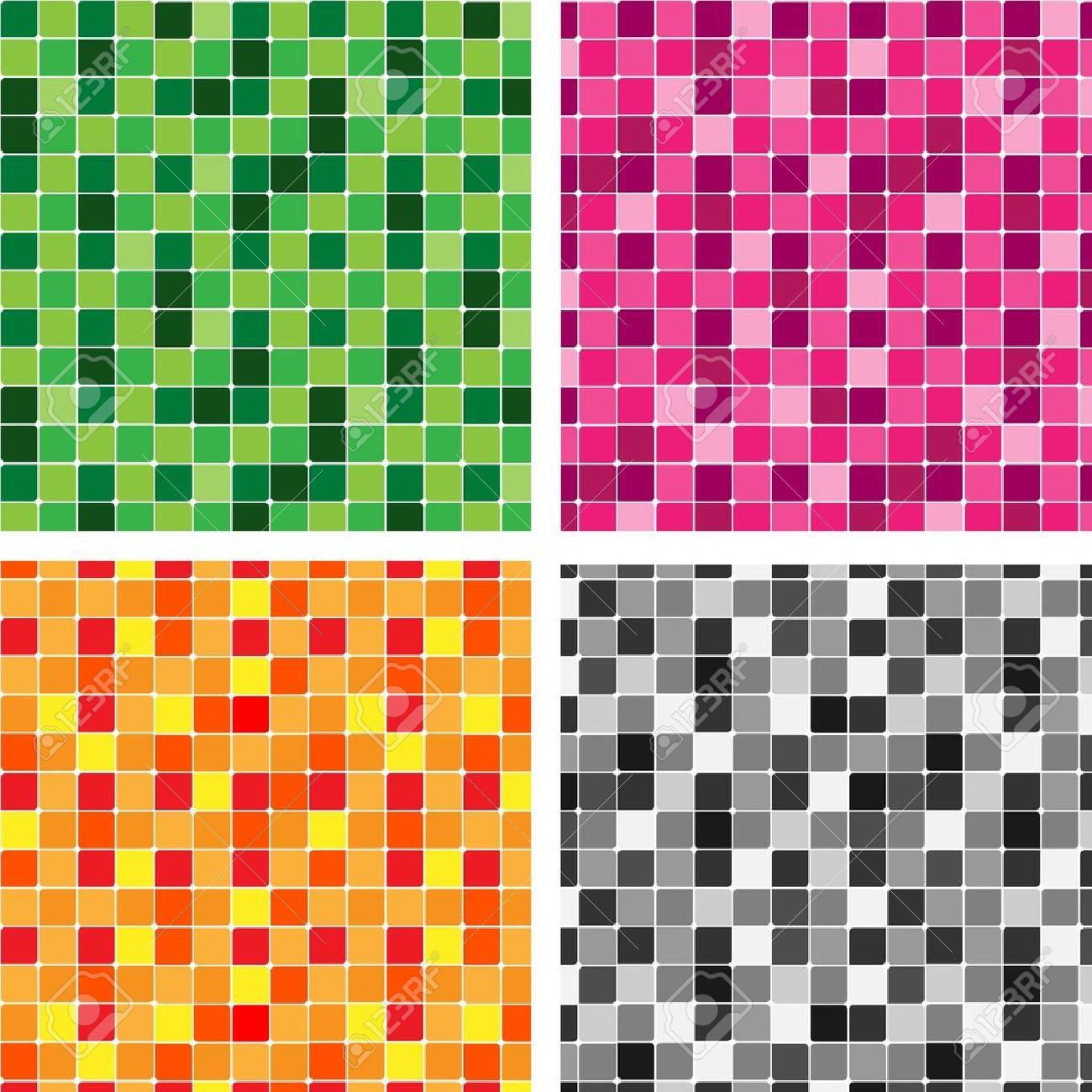 Green tiles kitchen texture - Pattern Tiles Texture Stock Vector 11327525