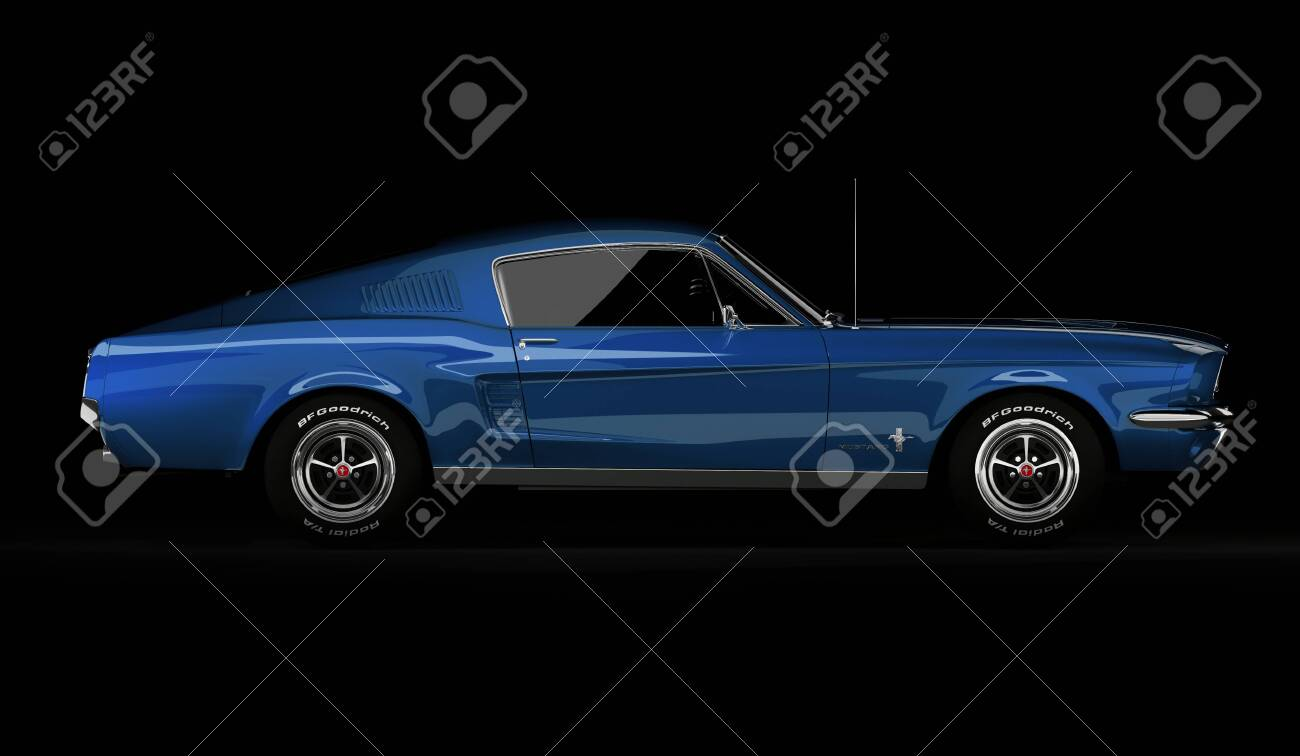 Almaty Kazakhstan March 15 2020 Ford Mustang 1967 Retro Stock Photo Picture And Royalty Free Image Image 142488622