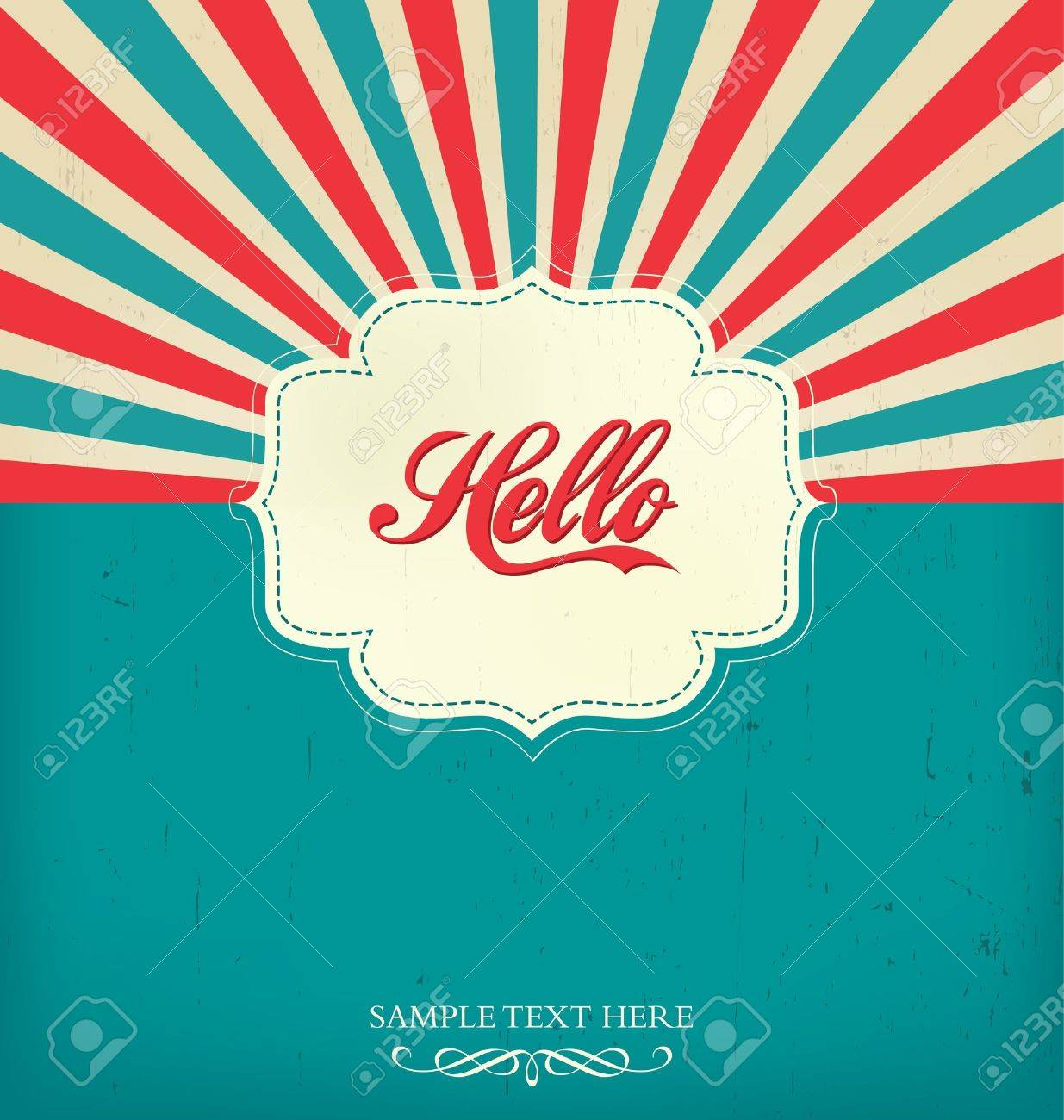 Vintage Design Template Stock Vector - 14553620