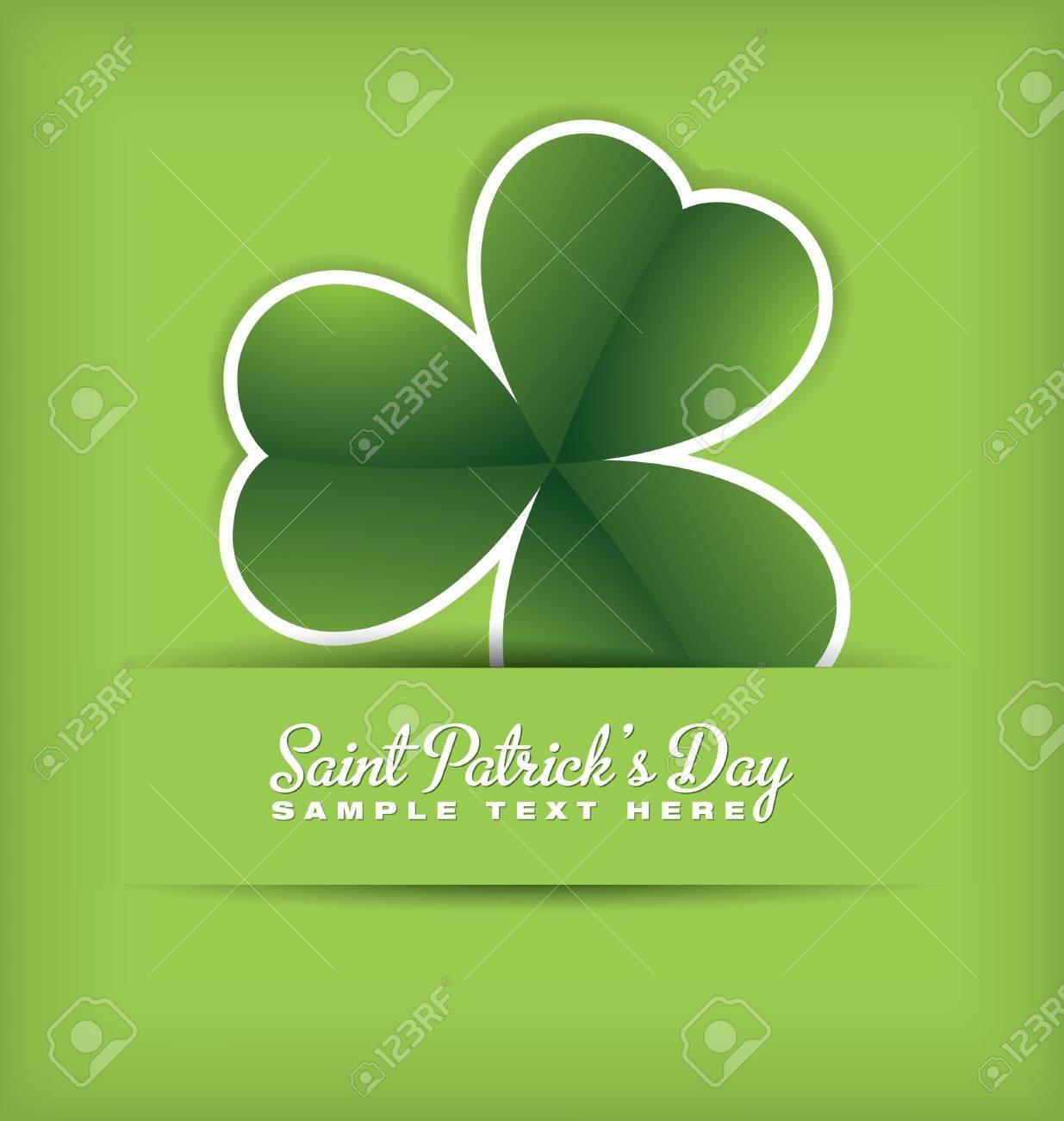 Saint Patrick s Day Design Stock Vector - 14576521
