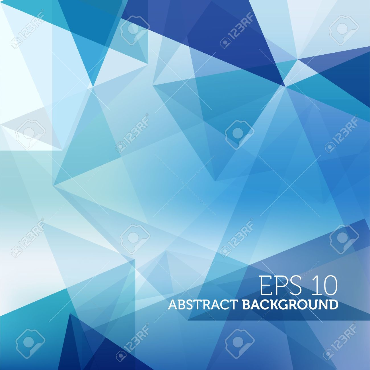 Abstract Blue Business Background Stock Vector - 15178604