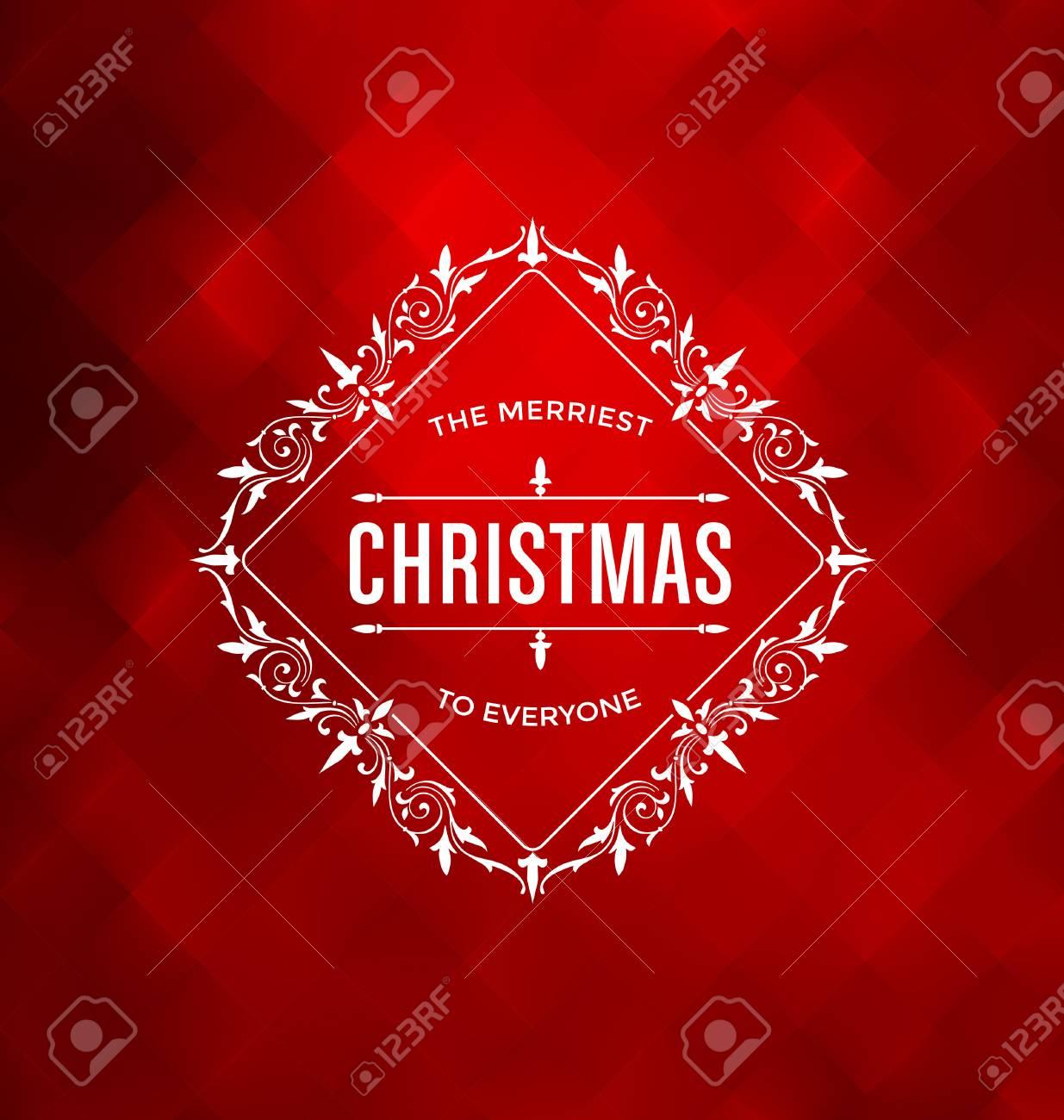 Weihnachtskarten Entwurf Elegante Stilvolle Gruß Mit