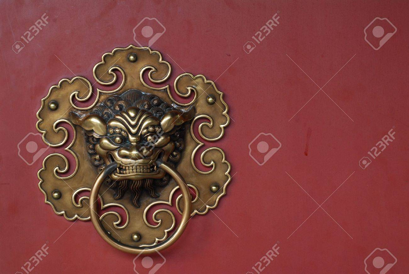 copper door knocks Stock Photo - 865530 & Copper Door Knocks Stock Photo Picture And Royalty Free Image ...